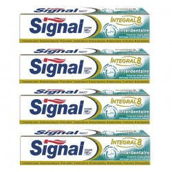 Signal - Lot 4 Dentifrices Integral 8 Interdentaire sur Couches Poupon