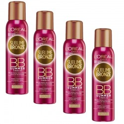 Lot de 4 Sprays Sublime Bronze 150 ml BB Summer Airbrush sur Couches Poupon