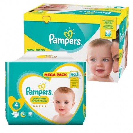 Pack 117 Couches Pampers New Baby Premium Protection sur Couches Poupon