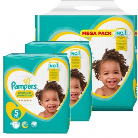 Pampers - pack Jumeaux 480 Couches new baby - premium protection sur Couches Poupon