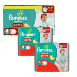 Pack 188 couches Pampers Baby Dry Pants