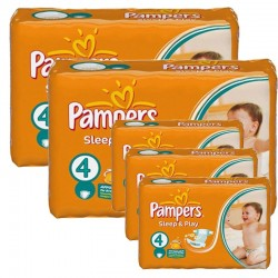 Mega Pack 324 couches Pampers Sleep & Play