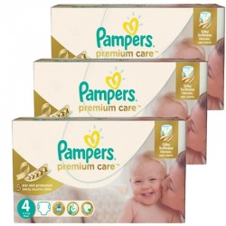 Maxi Giga Pack 420 Couches Pampers Premium Care Prima sur Couches Poupon