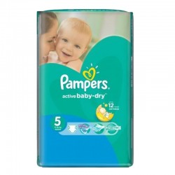 Pack 88 couches Pampers Active Baby Dry