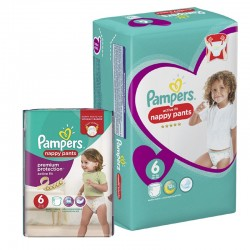 Giga Pack 112 Couches Pampers Active Fit Pants
