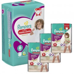 Pampers - Mega Pack 140 Couches Active Fit - Pants sur Couches Poupon