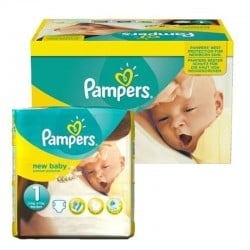 Pampers - Pack 96 Couches New Baby Premium Protection taille 1
