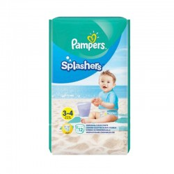 Pack 12 Couches de Bain Pampers SPLASHERS