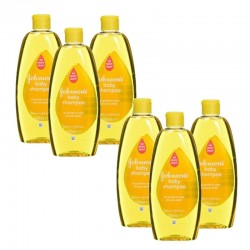 Pack de 6 Shampooings doux bébé Johnson 300 ml sur Couches Poupon