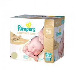 Pampers - Maxi giga pack 352 Couches Premium Care taille 1