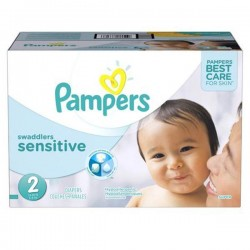 Pampers - Giga pack 240 Couches New Baby Sensitive sur Couches Poupon