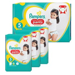 Pampers - Giga pack 200 Couches Premium Protection Pants taille 5 sur Couches Poupon