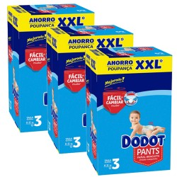 Dodot - Giga pack 296 Couches 0 taille 3 sur Couches Poupon