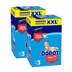 Dodot - Maxi giga pack 370 Couches 0 taille 3 sur Couches Poupon