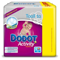 Dodot - Pack 39 Couches Activity taille 6 sur Couches Poupon