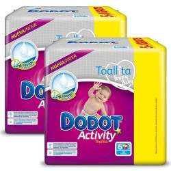 Dodot - Giga pack 273 Couches Activity taille 6 sur Couches Poupon