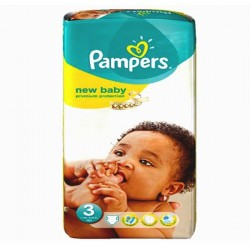 Pampers - Pack 68 Couches New Baby Premium Protection taille 3 sur Couches Poupon