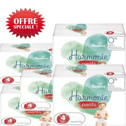 Pampers - Maxi giga pack 348 Couches Harmonie Pants taille 4 sur Couches Poupon