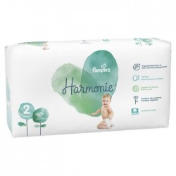 Pampers - Pack 78 Couches Harmonie taille 2 sur Couches Poupon