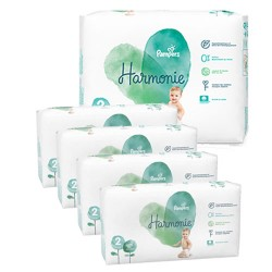 Pampers - Pack jumeaux 780 Couches Harmonie taille 2 sur Couches Poupon