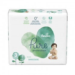 Pampers - Pack 22 Couches Pure Protection taille 3 sur Couches Poupon