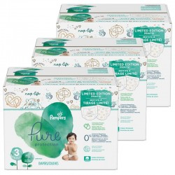 Pampers - Maxi giga pack 374 Couches Pure Protection taille 3 sur Couches Poupon