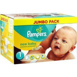 New Baby - 280 Couches Pampers taille 1
