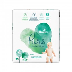 Pampers - Pack 19 Couches Pure Protection taille 4