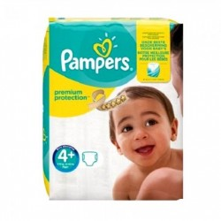 Pampers - Pack 50 Couches New Baby Premium Protection taille 4+ sur Couches Poupon