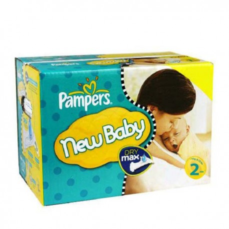 Pampers - Maxi giga pack 310 Couches New Baby Premium Protection taille 2 sur Couches Poupon