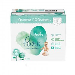 Pampers - Pack 81 Couches Pure Protection taille 2