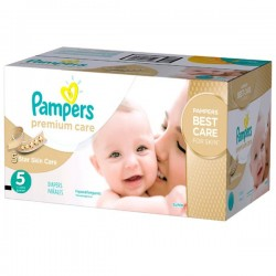 Pampers - 390 Couches Premium Care taille 5 sur Couches Poupon