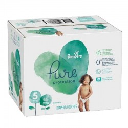 Pampers - Giga pack 221 Couches Pure Protection taille 5