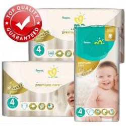 Pampers - Mega pack 120 Couches New Baby Premium Care taille 4 sur Couches Poupon