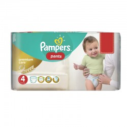 Pack 66 Couches Pampers Premium Care Pants taille 4