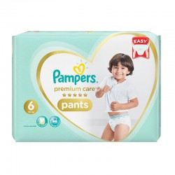 Pampers - Pack 36 Couches Premium Care Pants taille 6 sur Couches Poupon