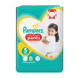 Pampers - Pack 68 Couches Premium Protection Pants taille 5 sur Couches Poupon