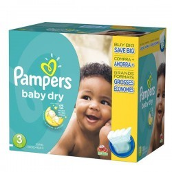 Pampers - Mega pack 152 Couches Baby Dry taille 3