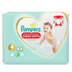 Pampers - Pack 76 Couches Premium Protection Pants taille 4 sur Couches Poupon